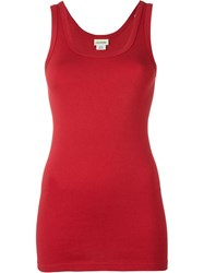 By Malene Birger 'Dawn' Tank Top Red