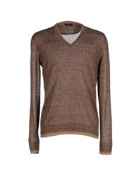 Allegri Knitwear Jumpers Men Cocoa