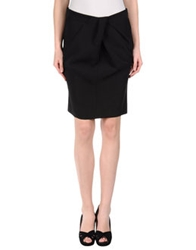 Paolo Casalini Knee Length Skirts Brown