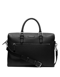 Michael Kors Large Front Zip Briefcase Black