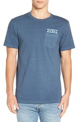 Rvca Men's 'Counting Ties' Graphic T Shirt