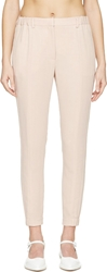 Viktor And Rolf Pale Pink Relaxed Trousers