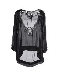 Twin Set Simona Barbieri Shirts Blouses Women Black