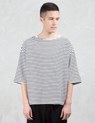 Sasquatchfabrix. Border Boat Neck S S T Shirt