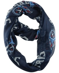 Little Earth Tennessee Titans Sheer Infinity Scarf Blue