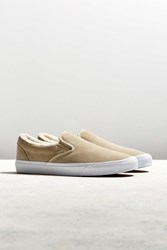 Vans Classic Fleece Slip On Sneaker Tan
