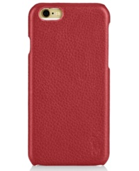 Polo Ralph Lauren Pebbled Leather Iphone Case Red