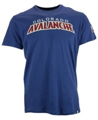 '47 Brand Men's Colorado Avalanche Fieldhouse Basic T Shirt Blue