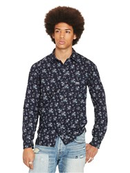 Denim And Supply Ralph Lauren Raw Edge Floral Shirt Wildflower Floral