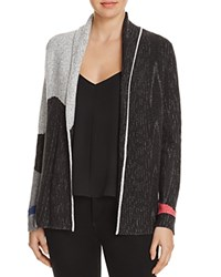 Nic Zoe And Charged Up Color Block Cardigan Multi