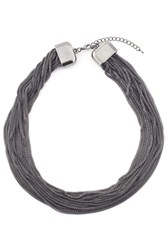 James Lakeland 16 Row Mesh Necklace