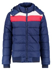 Blend Of America Winter Jacket Navy Dark Blue