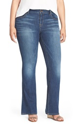 Lucky Brand 'Ginger' Bootcut Jeans Amazonite Plus Size And Petite Plus