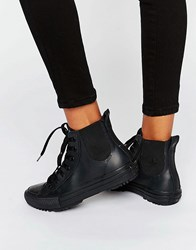 Converse All Star Rubber Chelsea Boots Black