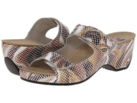 Helle Comfort Amadi Toast Multi Snake Women's 1 2 Inch Heel Shoes Brown