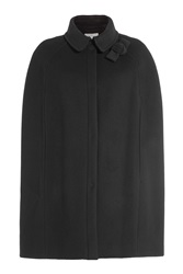 Paule Ka Wool Cape Black