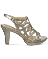 Naturalizer Danya Dress Sandals Women's Shoes Pewter