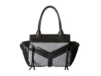 Botkier Trigger Small Satchel Black White Satchel Handbags