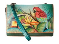 Anuschka 1128 Tropical Bliss Cross Body Handbags Multi