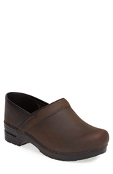 Dansko 'Pro' Clog Men Antique Brown Oiled