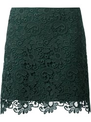 N 21 No21 Embroidered Skirt Green