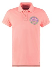Petrol Industries Polo Shirt Fiery Corall Apricot