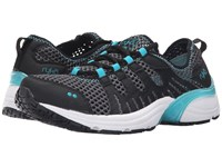 Ryka Hydro Sport 2 Black Iron Grey Blue Bird Women's Shoes