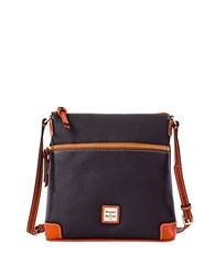Dooney And Bourke Pebbled Leather Crossbody Bag Black