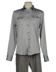 Macchia J Long Sleeve Shirts Grey