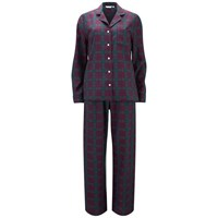 Derek Rose Women's Amelia 12 Pyjama Set Red