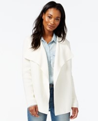 Maison Jules Open Front Cardigan Only At Macy's Egret
