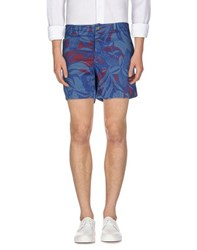 New England Trousers Bermuda Shorts Men Pastel Blue