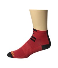 Pearl Izumi Elite Low Sock Red Men's Crew Cut Socks Shoes