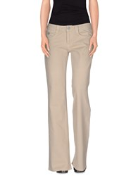 Liu Jo Denim Denim Trousers Women Sand