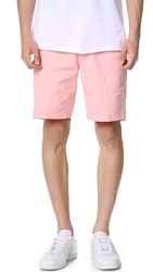 Obey Working Man Shorts Ii Light Pink