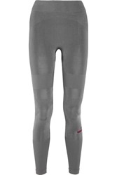 Adidas By Stella Mccartney Yoga Stretch Jersey Leggings Anthracite
