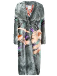 Marco De Vincenzo 'Rihanna' Coat Grey