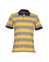 Andrea Fenzi Topwear Polo Shirts Men Yellow