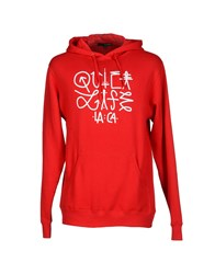 The Quiet Life Topwear Sweatshirts Men Red