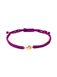 Natasha Collis Medium Friendship Sapphire Bracelet Pink And Purple