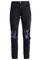 Glamorous Relaxed Fit Jeans New Black