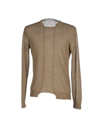 Gold Case By Rocco Fraioli Knitwear Jumpers Men Military Green