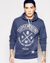 Supreme Being Supremebeing Colors Hoodie Blue
