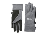 The North Face Women's Etip Glove High Rise Grey Heather Extreme Cold Weather Gloves Gray
