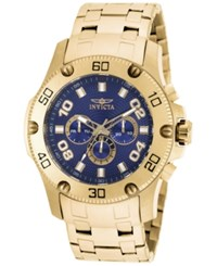 Invicta Men's Chronograph Pro Diver Gold Tone Stainless Steel Bracelet Watch 48Mm 19228