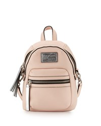 Domo Biker Cross Backpack Pearl Blush Marc By Marc Jacobs