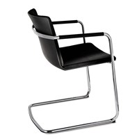 Wilkhahn Neos Cantilever Chair Leather