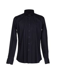 Lab. Pal Zileri Shirts Dark Blue