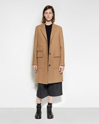 Margaret Howell Short City Coat Camel