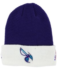 Adidas Charlotte Hornets Authentic Cuffed Knit Hat